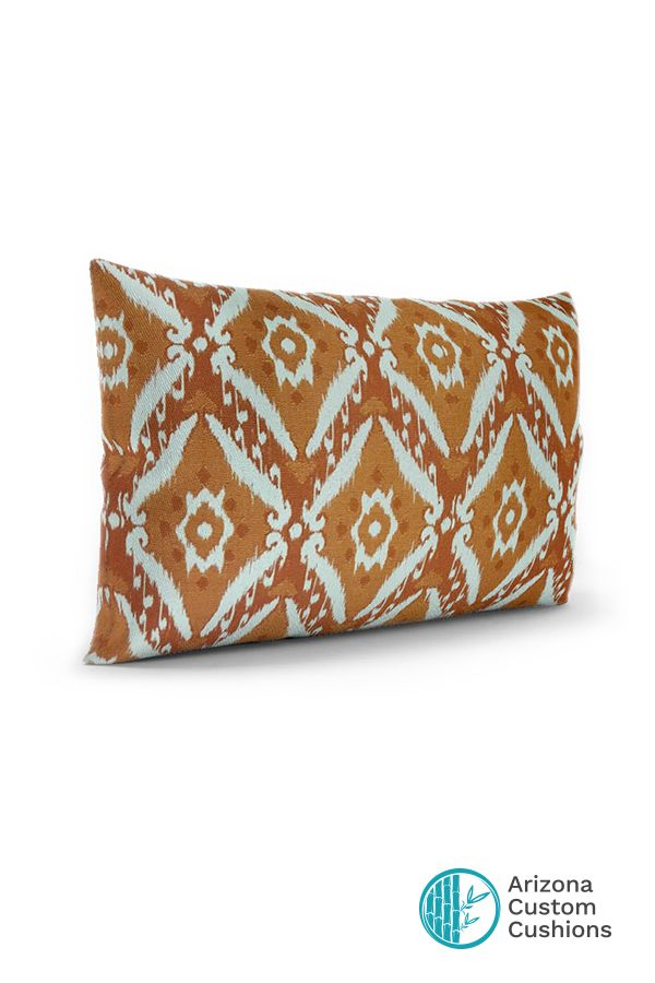 Throwpillow 22 X 15 Diamante Copper Fabric From Paratempotest