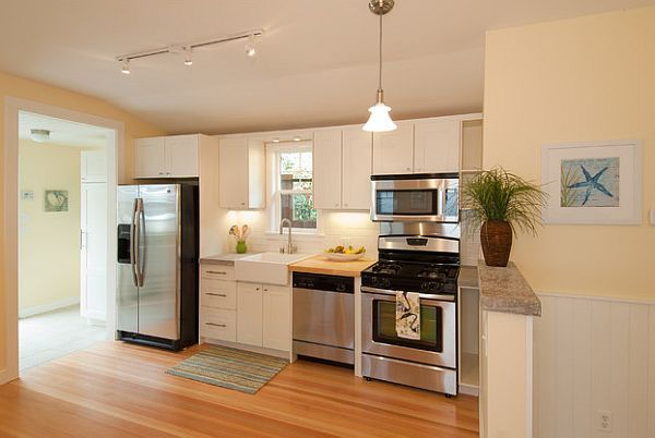 Kitchen Remodel 101 Stunning Ideas For Your Kitchen Design Small Basement Kitchen Small Apartment Kitchen Decor Small Apartment Kitchen