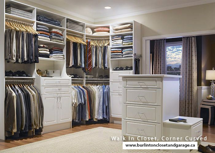 Curved Closet Rod Enchanting Curved Closet Rod  Walk In Closet Corner Curved  Closet Ideas Decorating Design