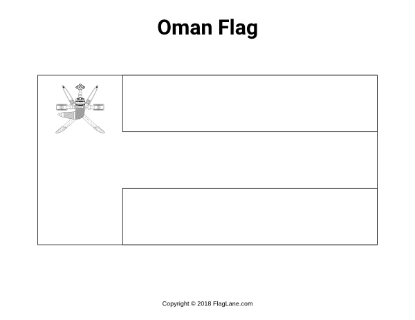 Free Printable Oman Flag Coloring Page Download It At Https Flaglane Com Coloring Page Omani Flag Flag Coloring Pages Oman Flag Omani Flag