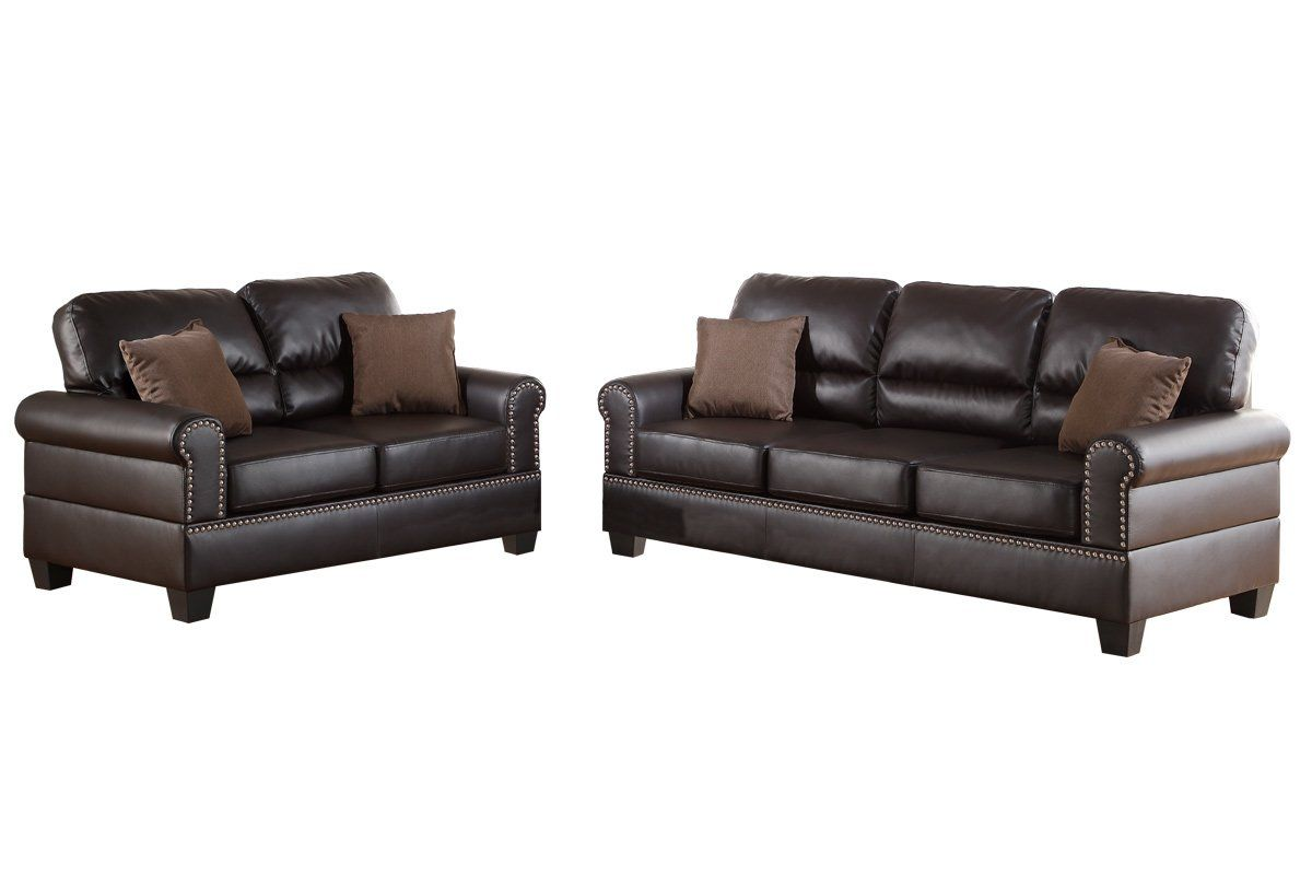 ryker reclining sofa and loveseat 2 piece set lexington quality boyster living room apartment