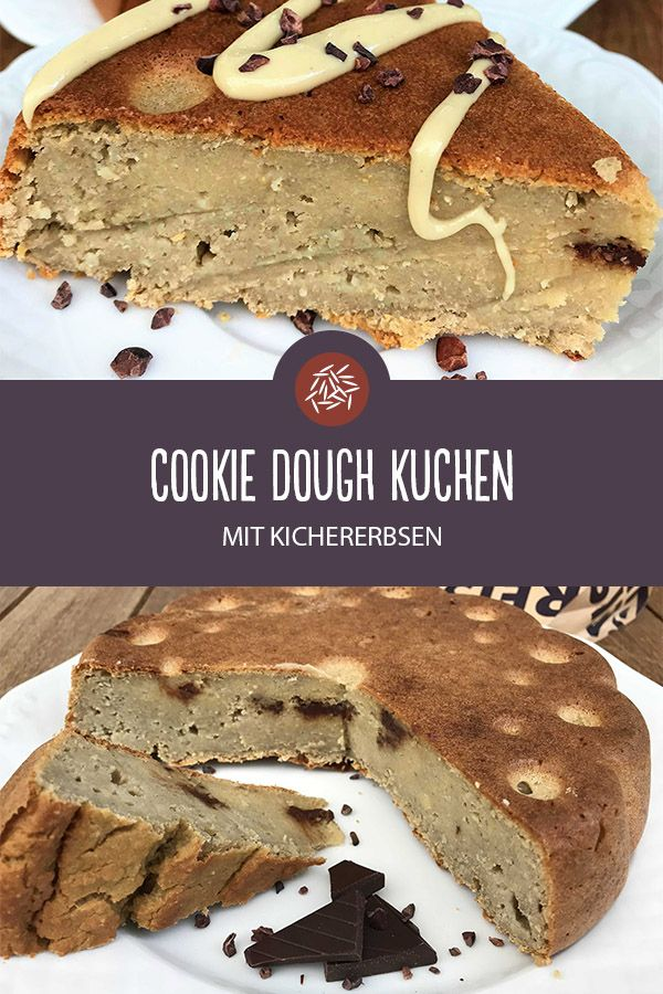Rezept für Cookie Dough Kuchen