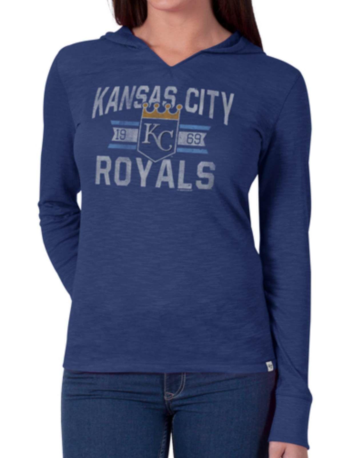 Kansas City Royals 47 Brand Women Blue Primetime Long