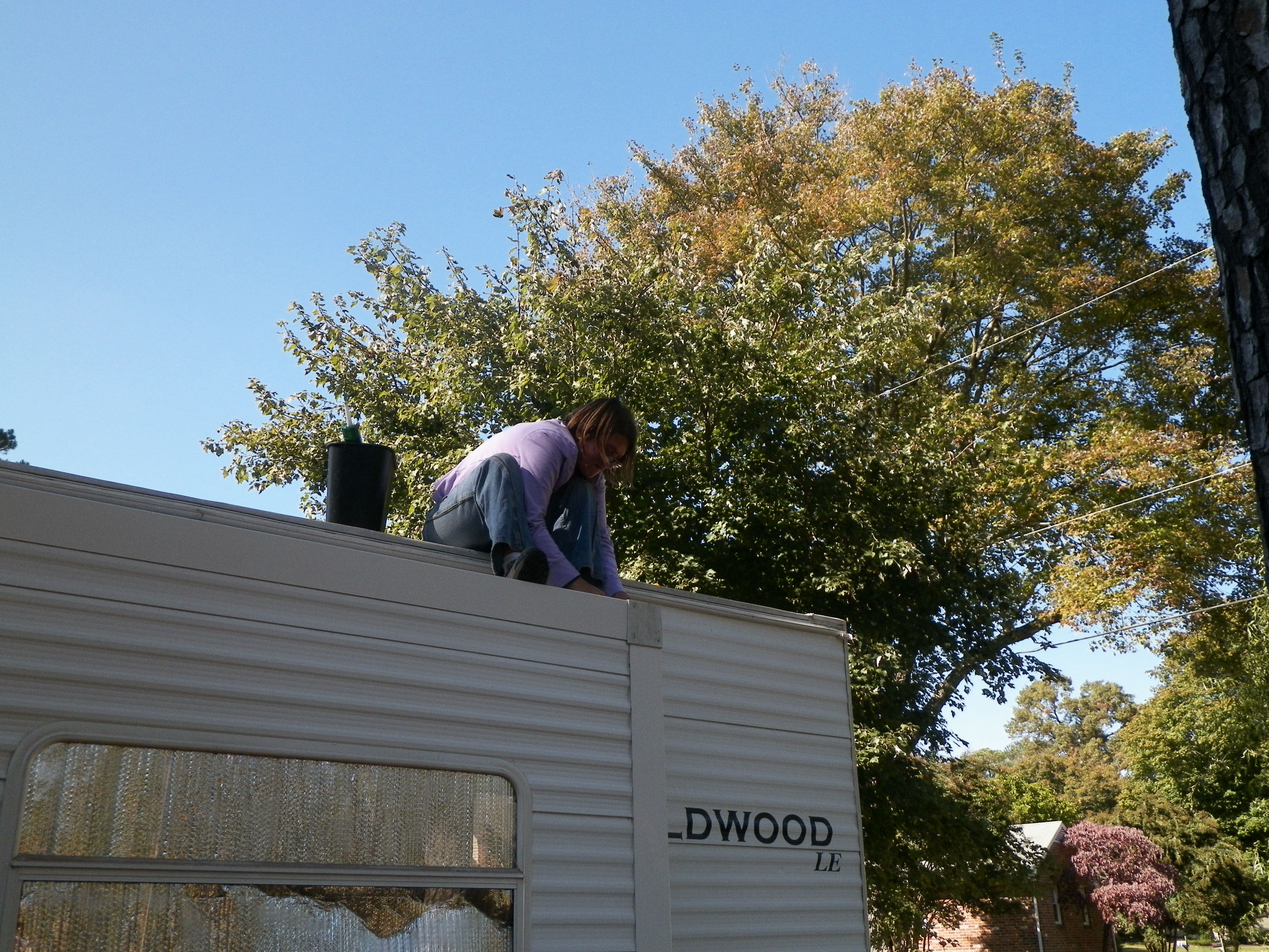 Laurie Caulking Trailer Roof Slide In Truck Campers