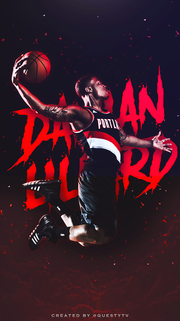 Phone Wallpapers on Behance Iphone wallpaper nba, Nba