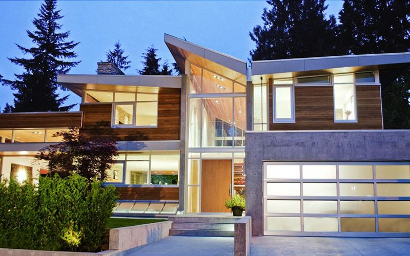 Forest House By Garret Cord Werner Vancouver Canada Housing