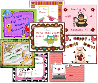 free valentines day cards - Valentines For Students