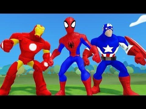 The Avengers Superheroes Epic Racing W Hulk Spiderman And Iron Man