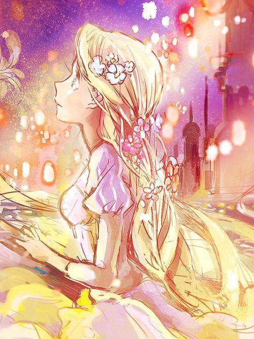 Raiponce manga princesses pinterest raiponce dessin - Raiponce dessin anime ...