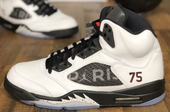 the latest 18a7d 7e5c3 Check Out The Air Jordan 5 PSG Friends And Family