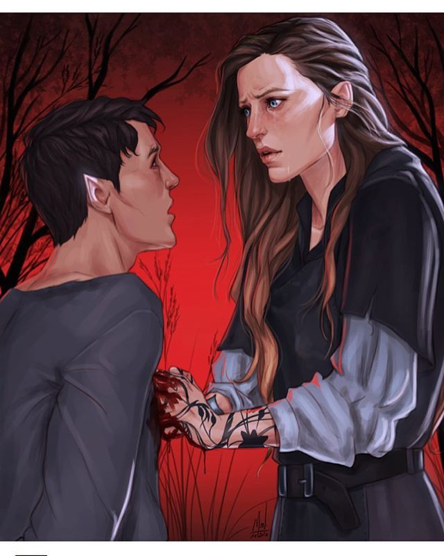 Poor Human Feyre Did You Realise That Rhysand Stopped Her He Made