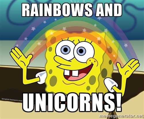 Image result for rainbow unicorn meme