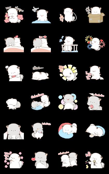 Super Soft Simao & Bamao 2 — Sticker for LINE & WhatsApp