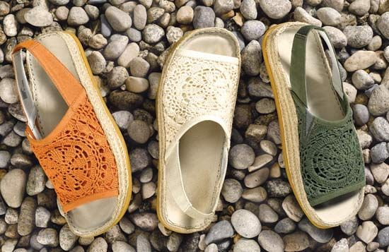 eco friendly sandals by Earth Shoes