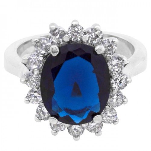 Kate Middleton's 6 Carat Blue Sapphire Engagement Ring ...
