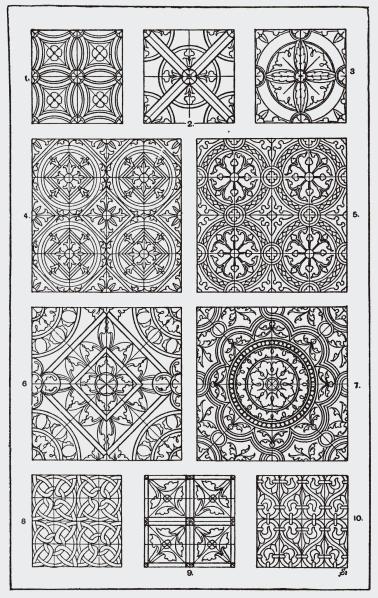 Mistar Ornamen mandala Средневековое искусство
