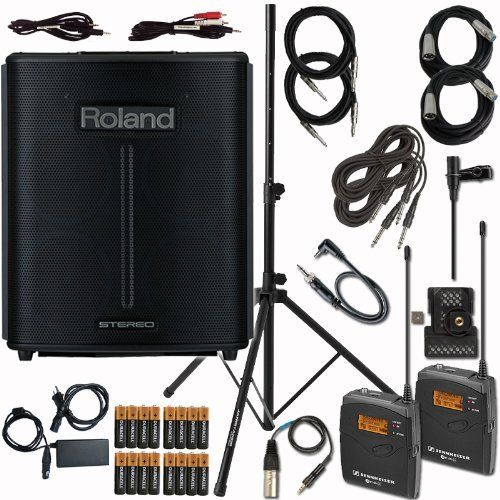 Roland BA-330 Portable Digital PA System with Sennheiser EW112 - ba stands for