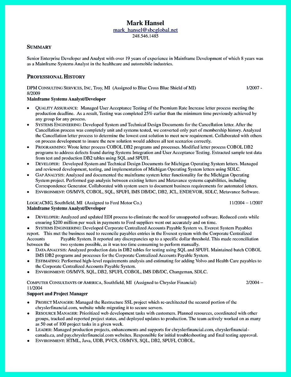 nice computer programmer resume examples to impress employers check more at http