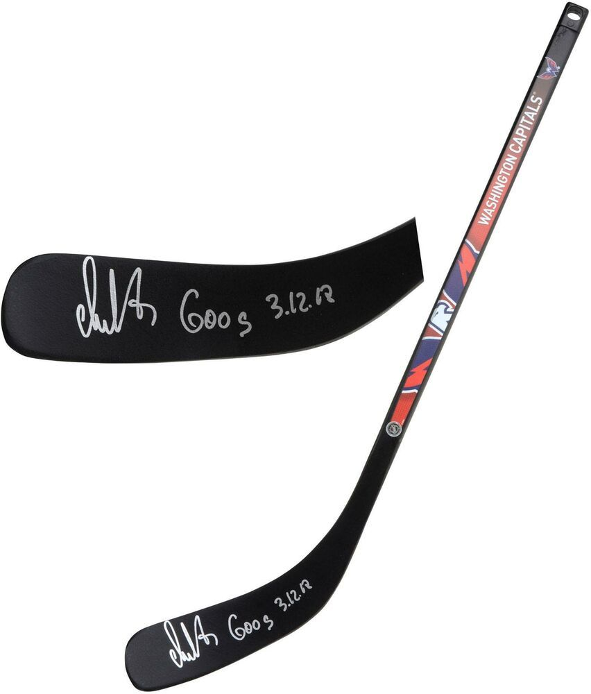 Autographed Alex Ovechkin Capitals Stick Fanatics Authentic Coa Item 9369410 Mini Hockey Sticks Hockey Stick Alex Ovechkin