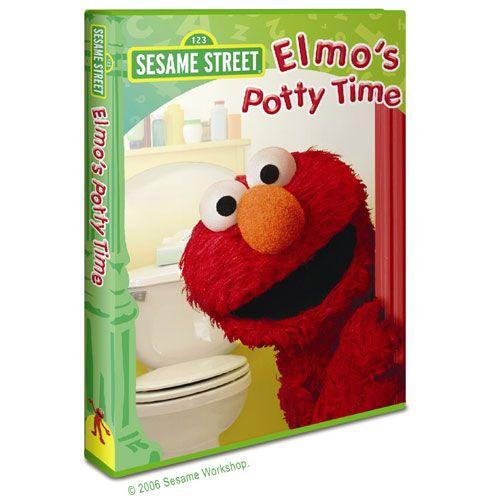 Elmo S Potty Time Dvd Sesame Street Elmos Potty Time
