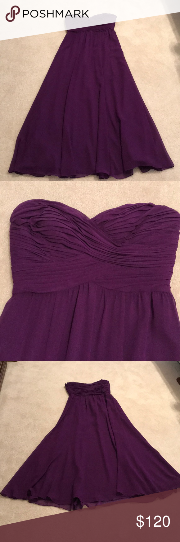 c25590625aa Lauren ralph lauren strapless purple gown size lauren ralph lauren long  evening strapless gown png 580x1740