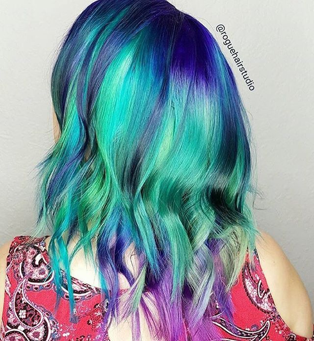 Loving this sea of color by our former salon of the week @roguehairstudio  Who's up next?  www.ArcticFoxPro.com