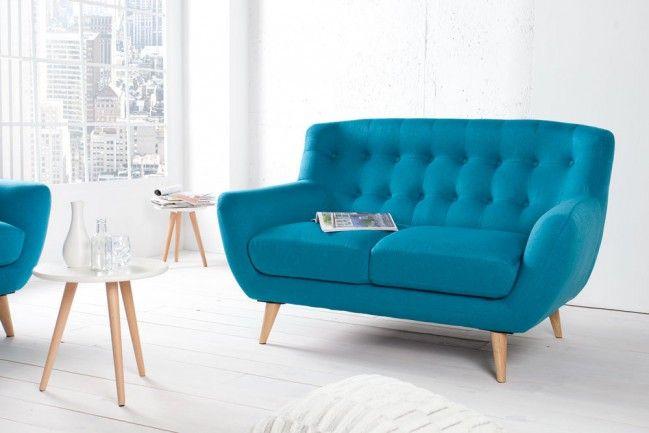 Exzellente Retro Designklassiker 2er Sofa Scandinavia Meisterstuck