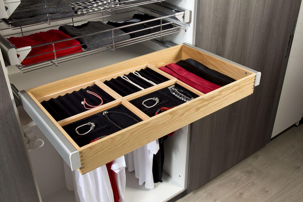 Kleiderschrank Ideen - Individuelle Schubkasteneinteilungen für ...