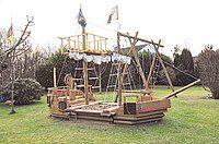 Schiff Ahoi Und Das Im Eigenen Garten Mindener Tageblatt Minden Aktuell Kinder Garten Diy Spielplatz Kinderspielplatz Garten