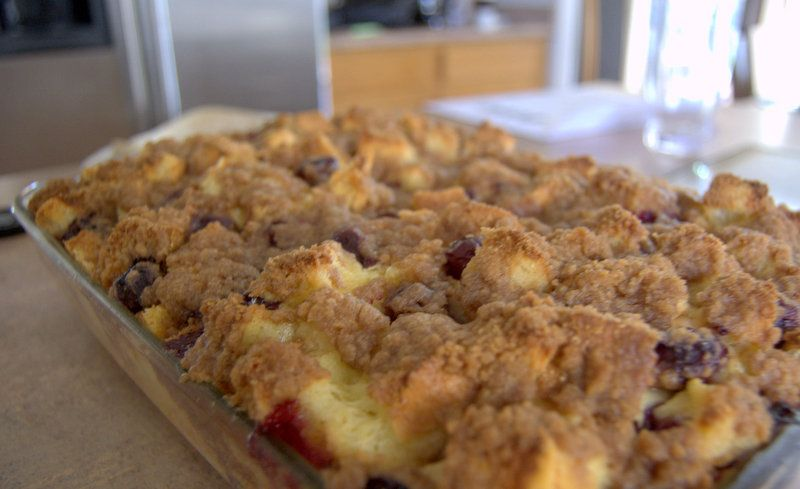 Baked blueberry french toast blueberry french toast blueberry blueberry french toast bake layers of bread egg batter and blueberries make up this ccuart Gallery