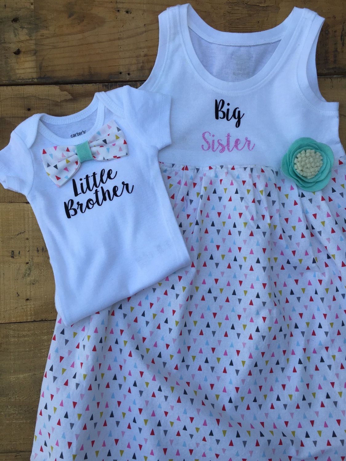 041709e7a62f Big Sister Little Brother Matching Outfits | Kids | Big sister kit ...