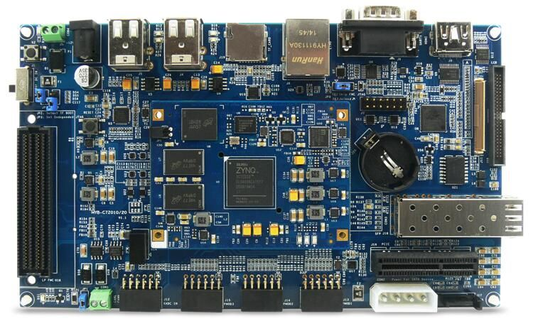 The MYD-C7Z015 development board takes full features of Xilinx' Zynq