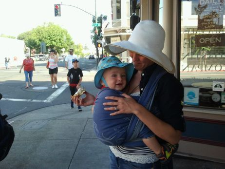 """Sweet post: """"What is the Best Wrap for Babywearing?"""""""