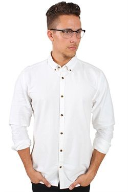 Only & Sons Merten Shirt Noos White Skjorte fra Only & Sons i hvid…