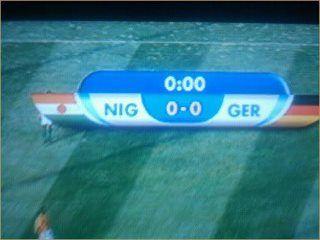Just nigeria versus germany