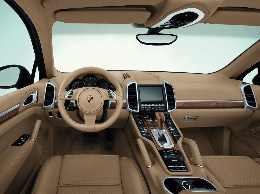 Inside example of my future Porsche Cayenne..