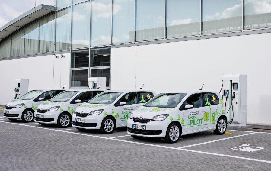 Skoda Launches Citigo E Pilot Production To Start In Q4 2019