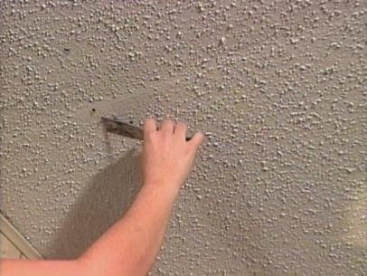 How To Repair A Textured Ceiling Textured Ceiling Paint Popcorn Ceiling Ceiling Texture