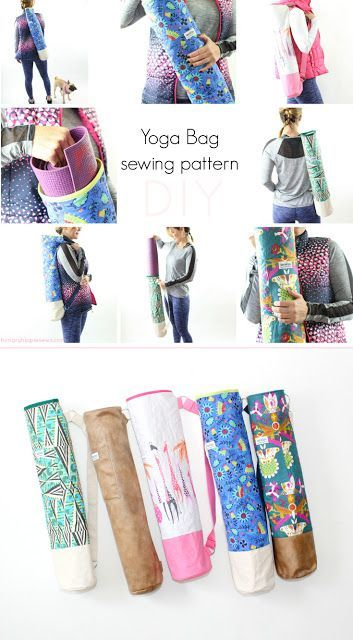 hungryhippie sews: Ananda Yoga Bag Sewing pattern tutorial and PDF