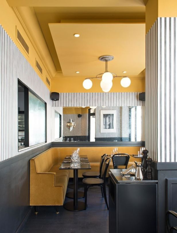 Discover a New Italian Restaurant Totally Inspired in Parisian Art Deco