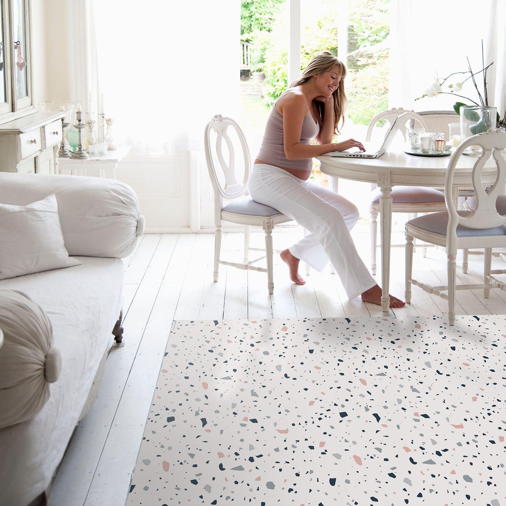 Terrazzo Floor Mat Scandinavian Style