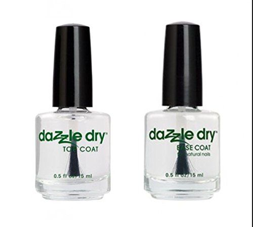 Dazzle Dry Duo Base Coat And Top Coat Base Coat Top Coat Natural Nails