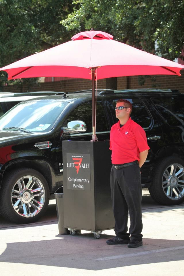 Elite Valet Attendant attentive and ready to go! Dallas Texas ...