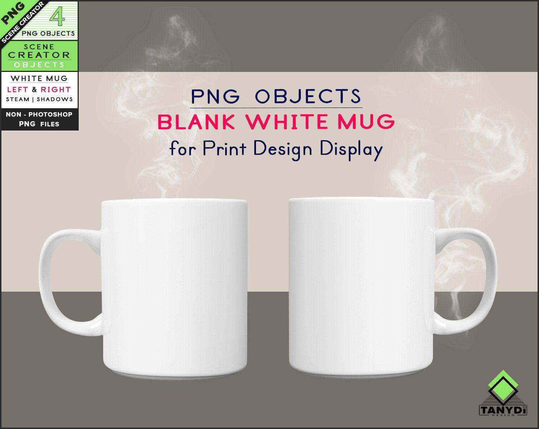 Blank Png Coffee Mug 2 Png White Mugs M4 Left Right Mug Png Steam Non Photoshop Scene Creator Drink Objects Do M4 Mugs Scene Creator The Creator