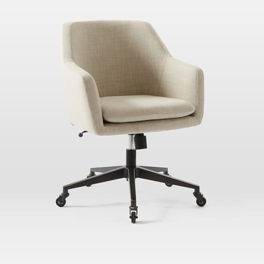 Helvetica Upholstered Office Chair Upholstered Office Chair Most Comfortable Office Chair Home Office Chairs