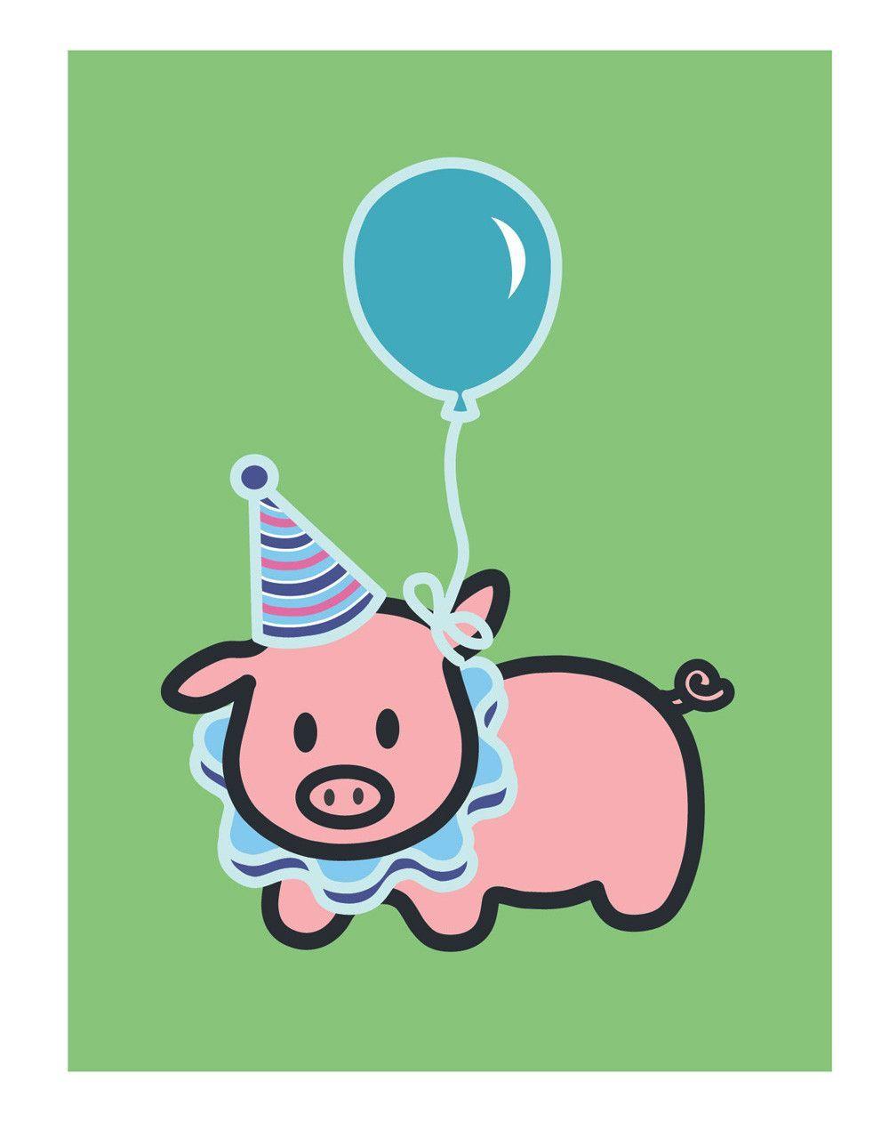 Pig Birthday Card Pig Birthday Happy Birthday Wishes Cards Homemade Birthday Cards