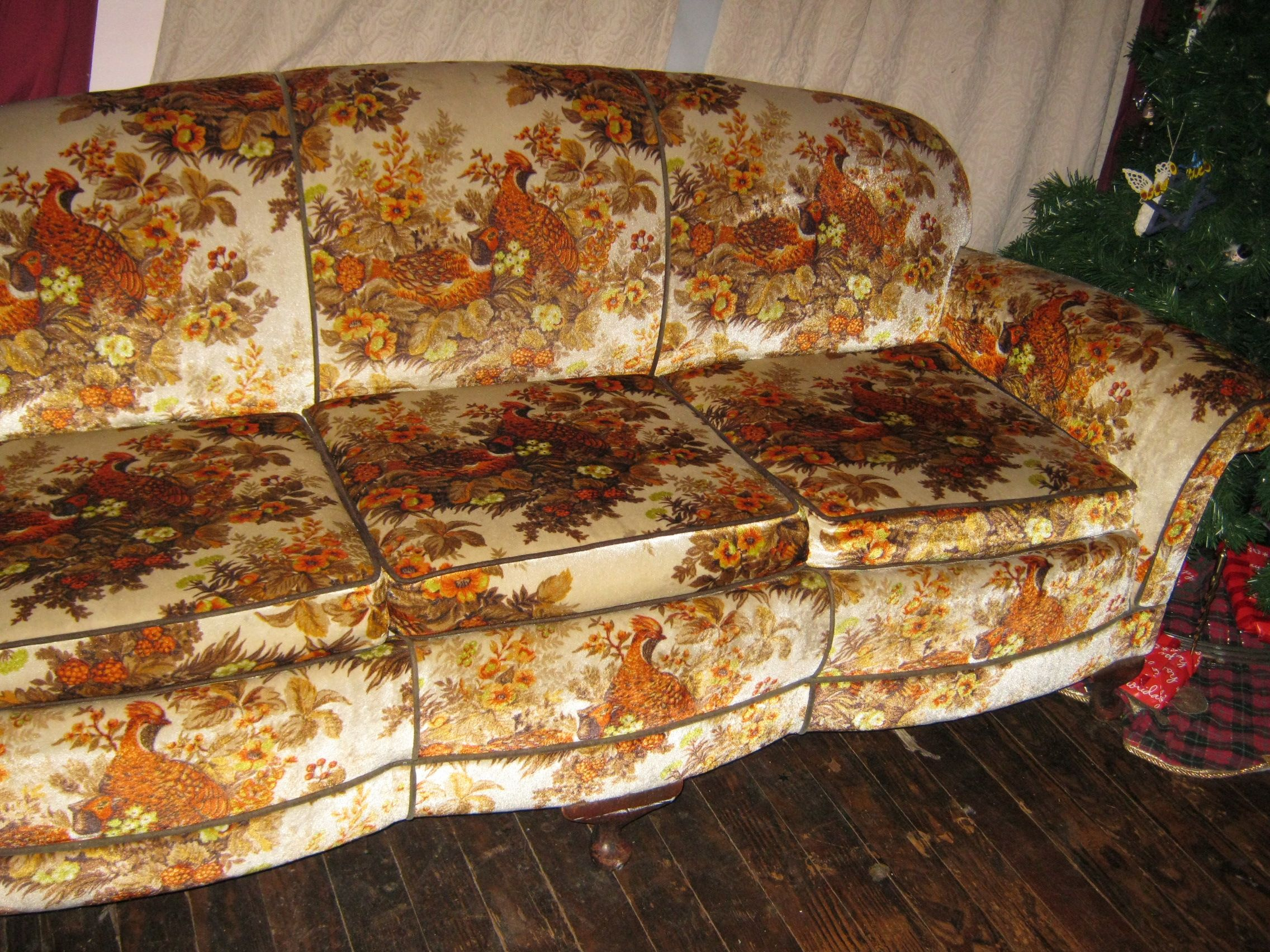 Ugly Flower Couch