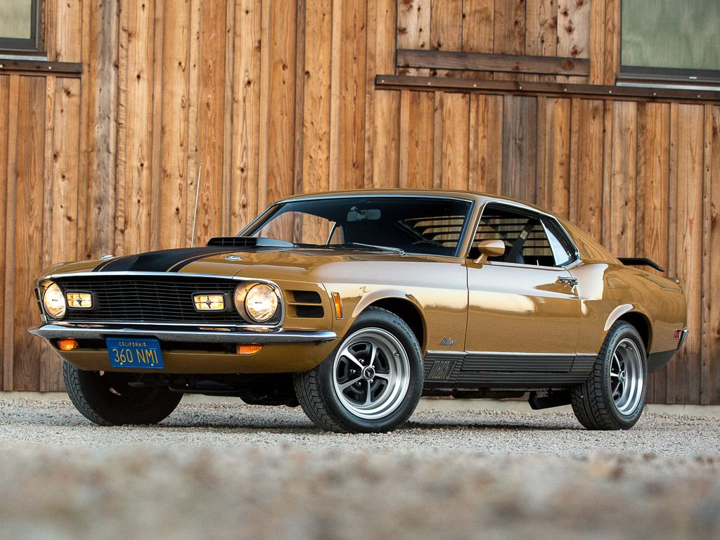 1970 Ford Mustang Mach 1 4-Speed