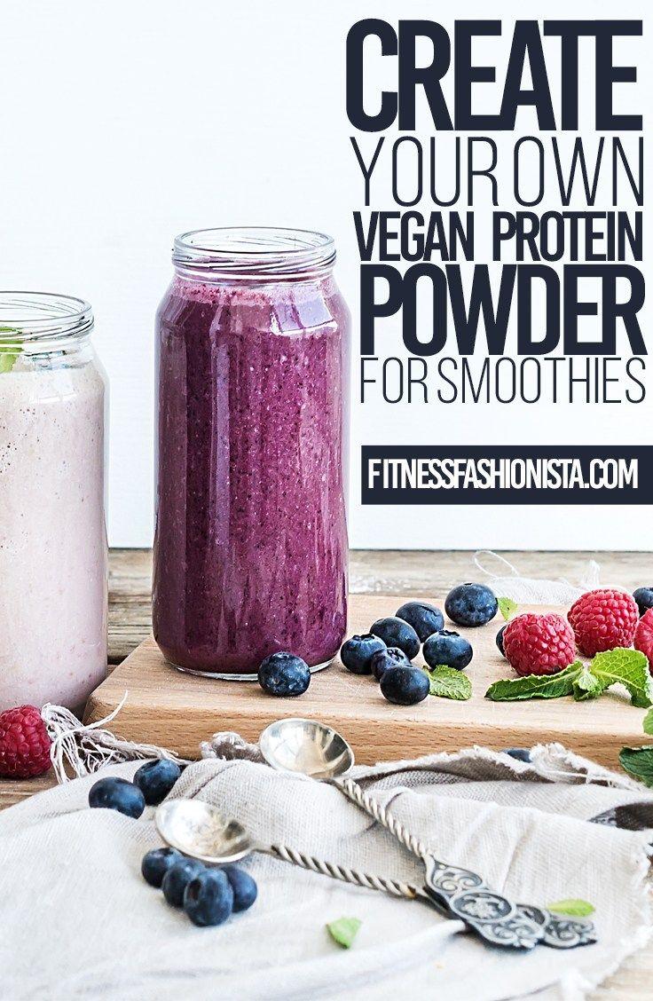 Create your own vegan protein powder vegan protein