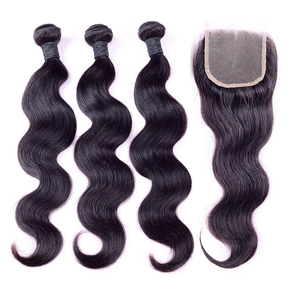 Ruiyu 8a Grade Brazilian Virgin Human Hair Weave Bundles Body Wave